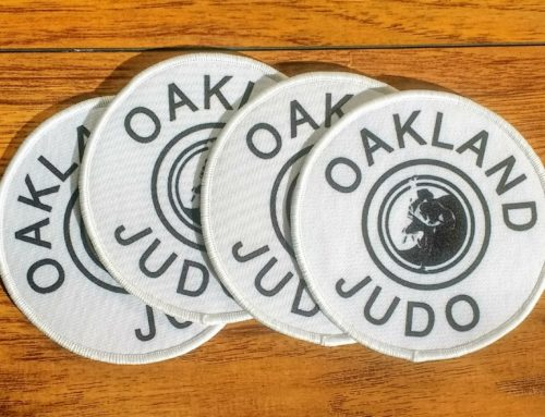Oakland Judo patches now available